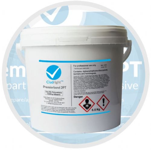 Wall Cladding 2 Part Adhesive Tub 6.5ltr